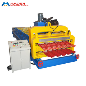 Steel Tile Double Layer Roll Forming Machine