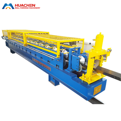 V Profile Roll Forming Machine Hole Punching System Available
